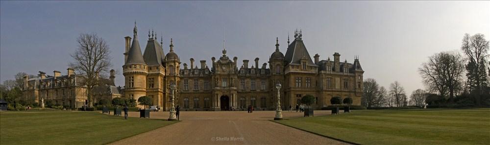 Waddesdon Manor Pano