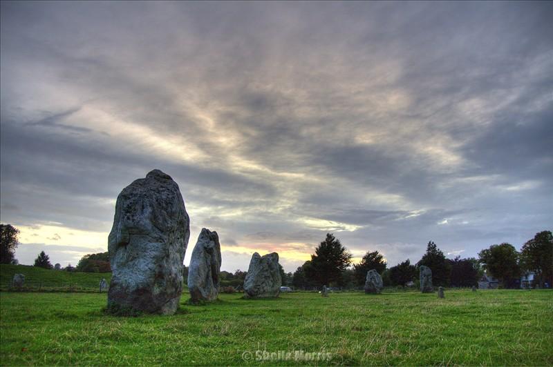 Avebury Stones HDR