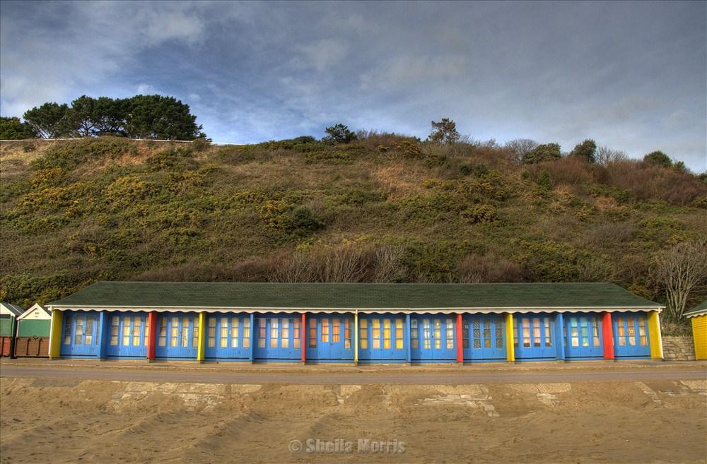 Beach Huts HDR