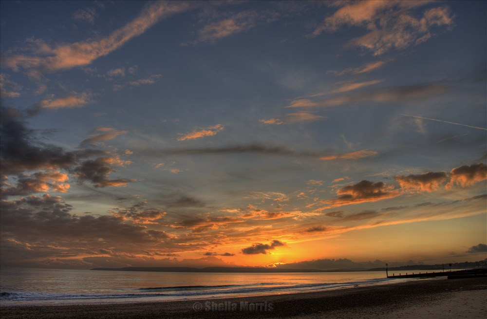 Beach Sunset HDR