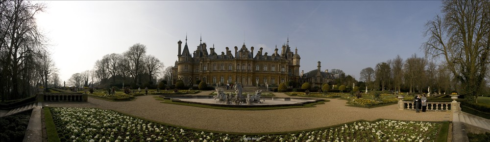 Waddesdon Manor Panorama