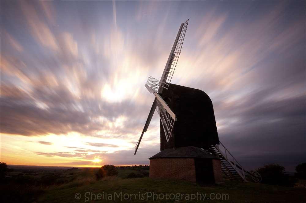 Brill sunset